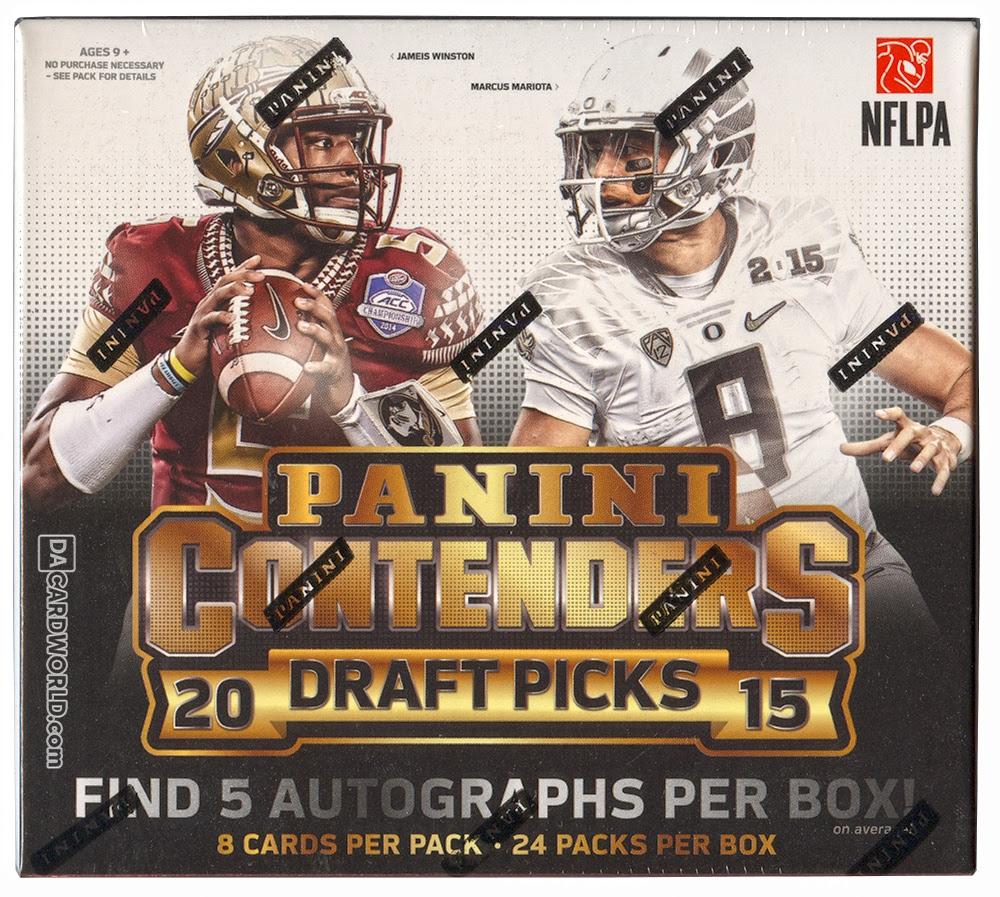 2015 Panini Contenders Draft Picks Football Hobby Box  DA Card World