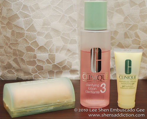 clinique combination to oily set