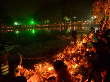 File image of Chhath pooja celebrations. Image sourced by A Ghose/101Reporters