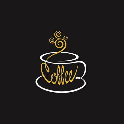 logos coffee design vector  vector logo