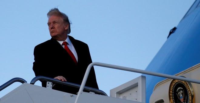 El presidente de EEUU, Donald Trump.- REUTERS