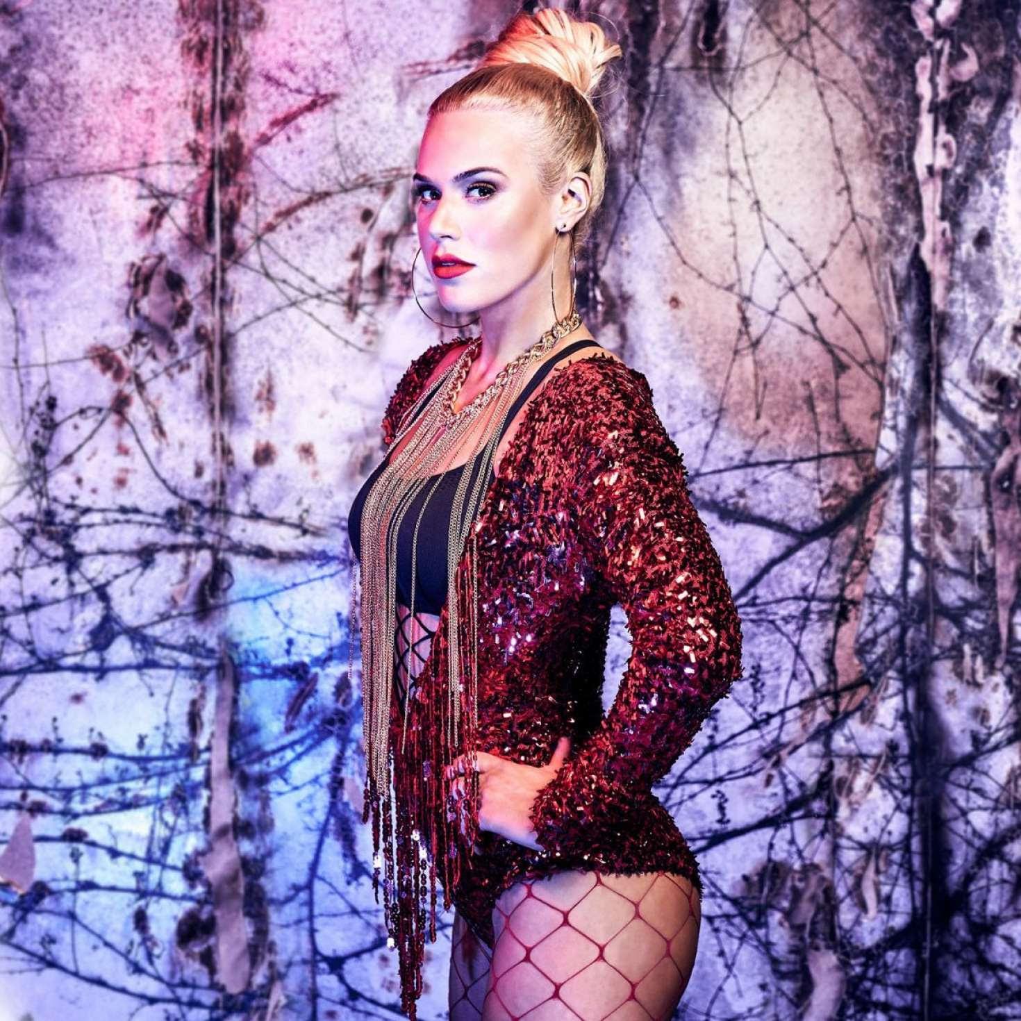 CJ Perry Lana – Halloween Photoshoot WWE Divas 2017