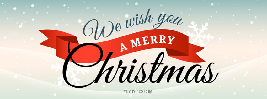 We Wish You Merry Christmas Facebook Cover Christmas Fb Cover Photo