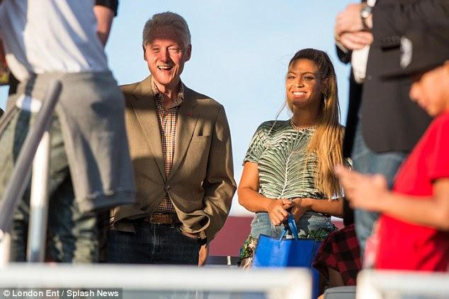 Reivindicação à fama: o marido de Hilary detém a duvidosa honra de ser referenciado em Partition 2014 hit do Bey, uma canção sobre ter relações sexuais na parte de trás de uma limusine