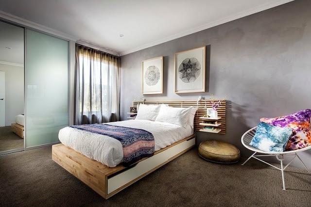 Ikea Teppich Rund Grau   105 Schlafzimmer Ideen Zur ...