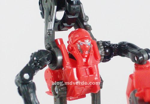 Transformers Arcee RotF Human Alliance - modo robot