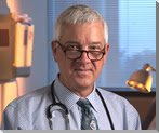 Pictured above is Leslie G. Biesecker, M.D., Chief and Senior Investigator at the Medical Genomics and Metabolic Genetics Branch National Human Genome Research Institute in Bethesda, Maryland. He is co-author of the Genetics Testing Handbook, now available online at the National Library of Medicine. (Photo in the Public Domain)