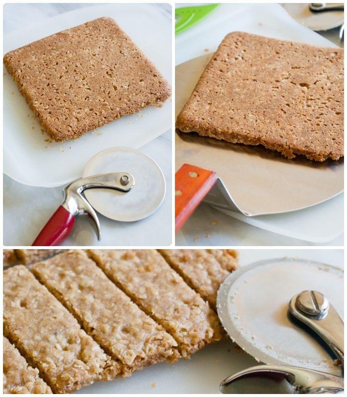 brown butter oatmeal shortbread cookies :: bakeat350.blogspot.com