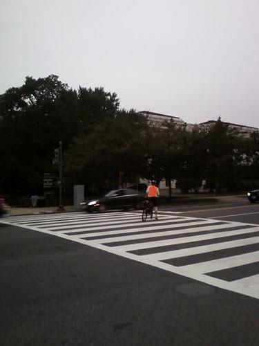 Cyclist middle of 14th