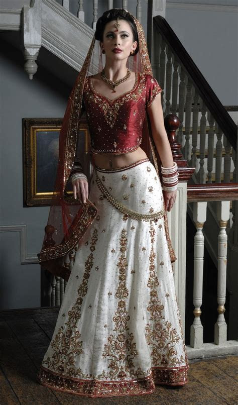 wb ivory brocade silk wedding outfit   red raw