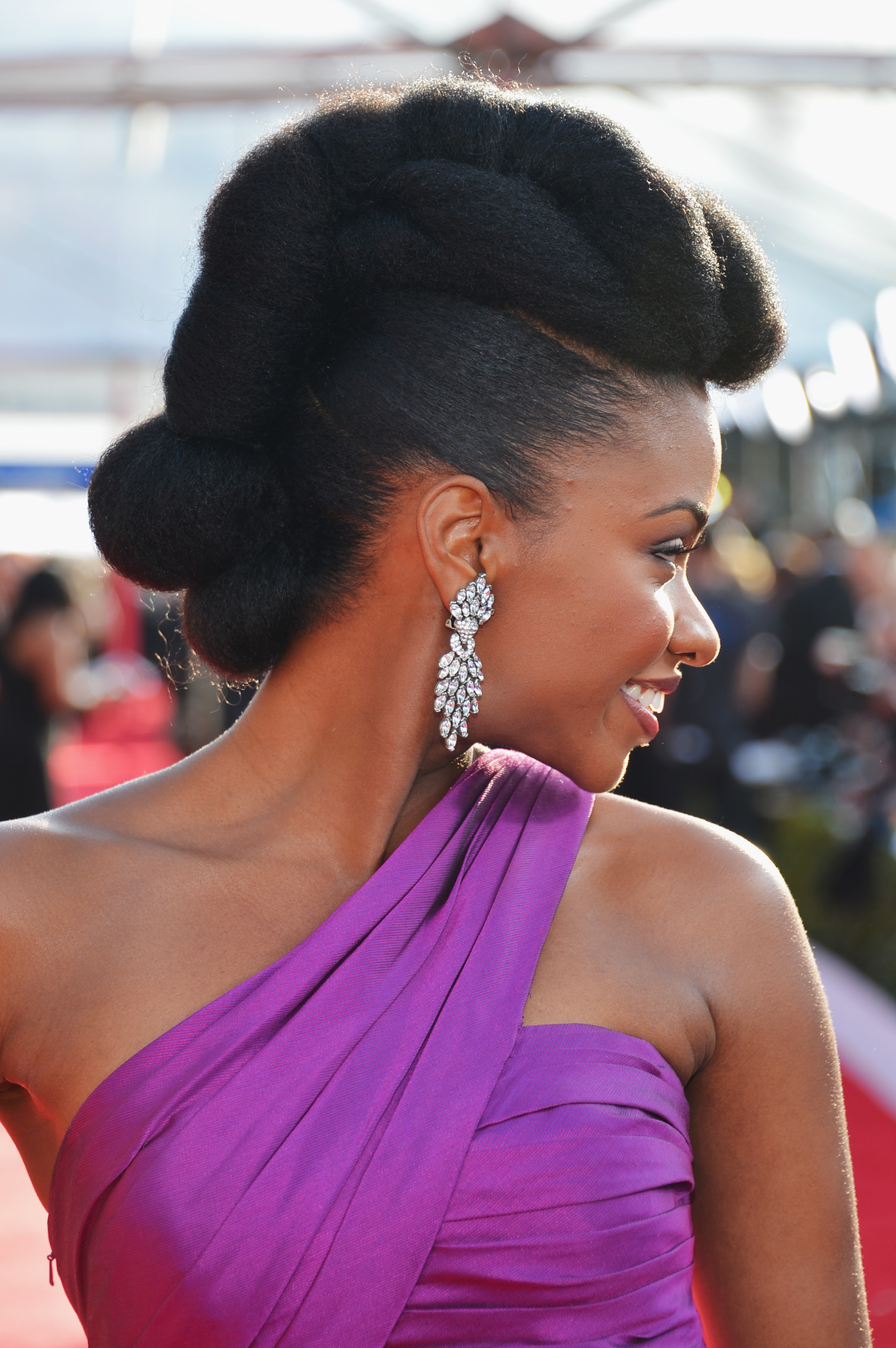 20 Easy Natural Hairstyles For Black Women Ideas For Short pertaining to Natural Hair Styles Pictures Black Hair