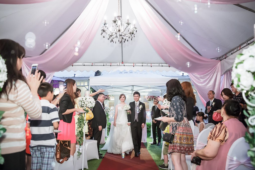 103青青時尚會館戶外婚禮
