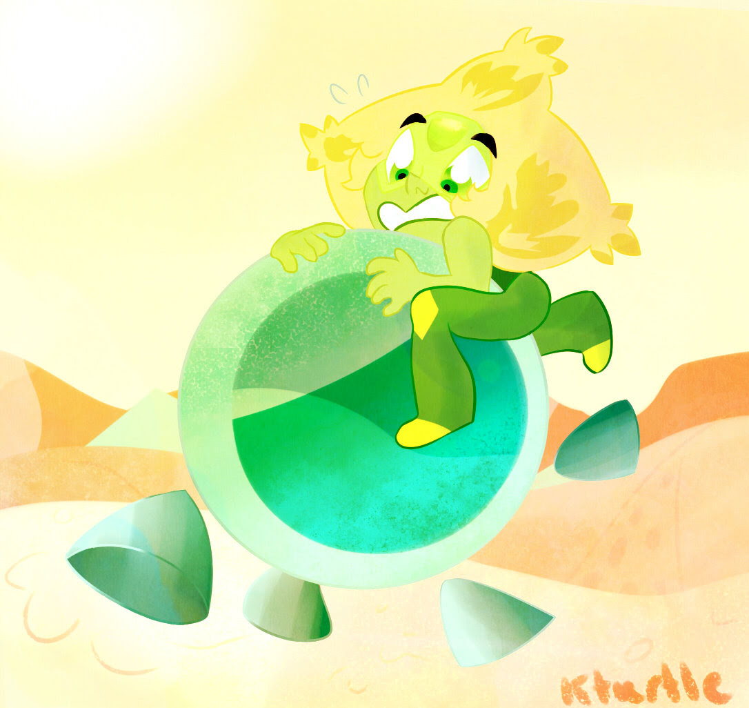 I bet peridots marble minions wouldn't recognize her without her limb enhancers and knowing peridot, she will try to recover her property but I think retrieving them would be as hard as her trying to...
