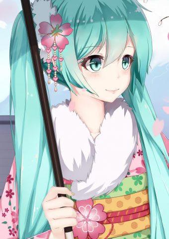 Hatsune Miku Sakura
