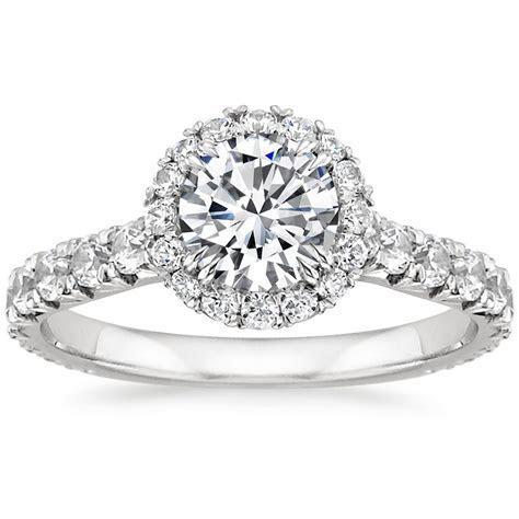 18K White Gold Sienna Diamond Ring