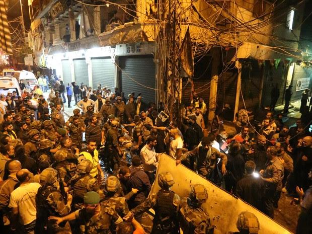 Explosões em reduto do Hezbollah em Beirute deixam mortos e feridos no Líbano (Foto: Marwan Tahtah/AFP)