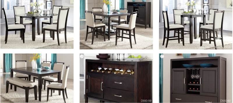 Espresso Dining Room Sets