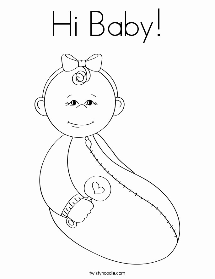 Baby Shower Coloring Pages Printables at GetColorings.com ...