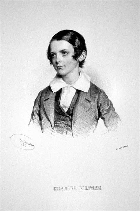 Carl Filtsch (1830-1845), lithograph (1844), by Josef