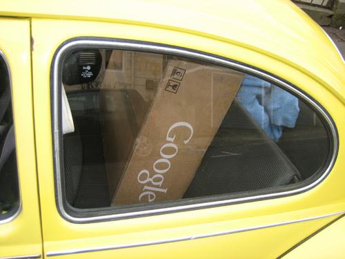 Google in my Beetle