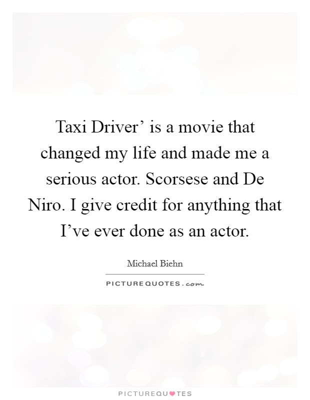 Taxi Driver Quotes Sayings Taxi Driver Picture Quotes