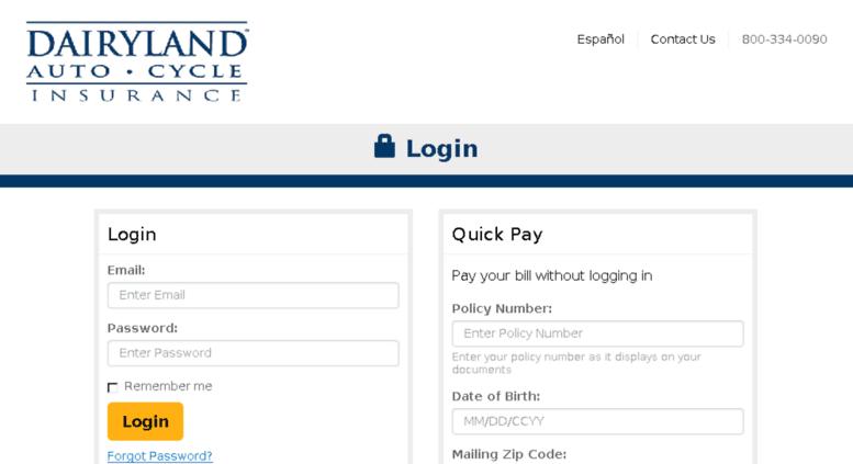 Access payments.dairylandauto.com. Make a Payment | My ...