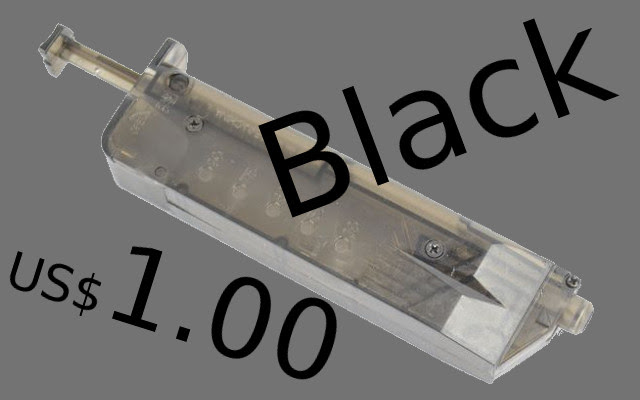 Pistol Magazine State 120 Rds 6mm BB Loader costs USD 1.00