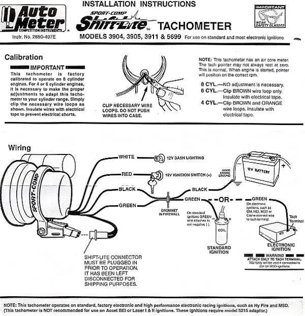 Auto Gauge Rpm Wiring Diagramhelppo kuljetus