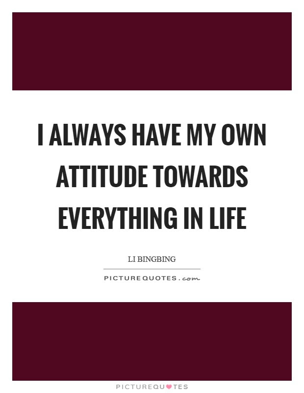 Attitude Is Everything Quotes Sayings Attitude Is Everything