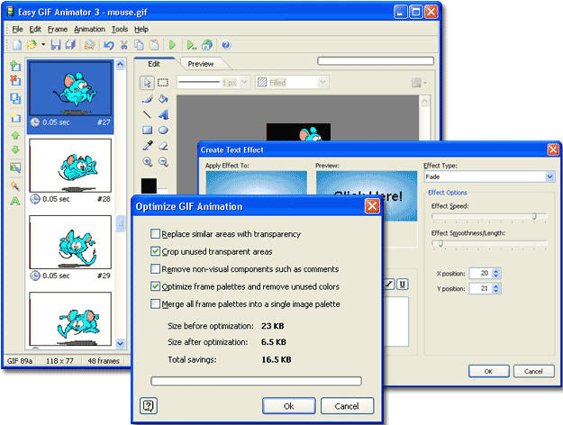 Gif Yapma Programi Easy Gif Animator 4 Ekinox Computer