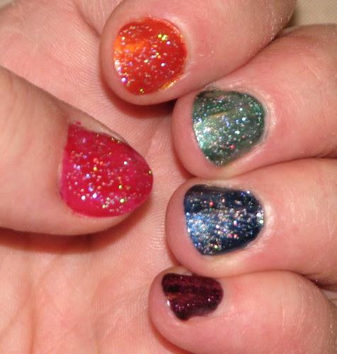 Rainbow Nails 004