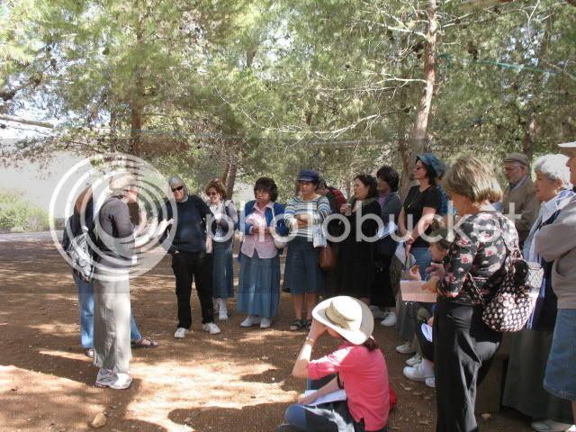 Touring Tel Shiloh