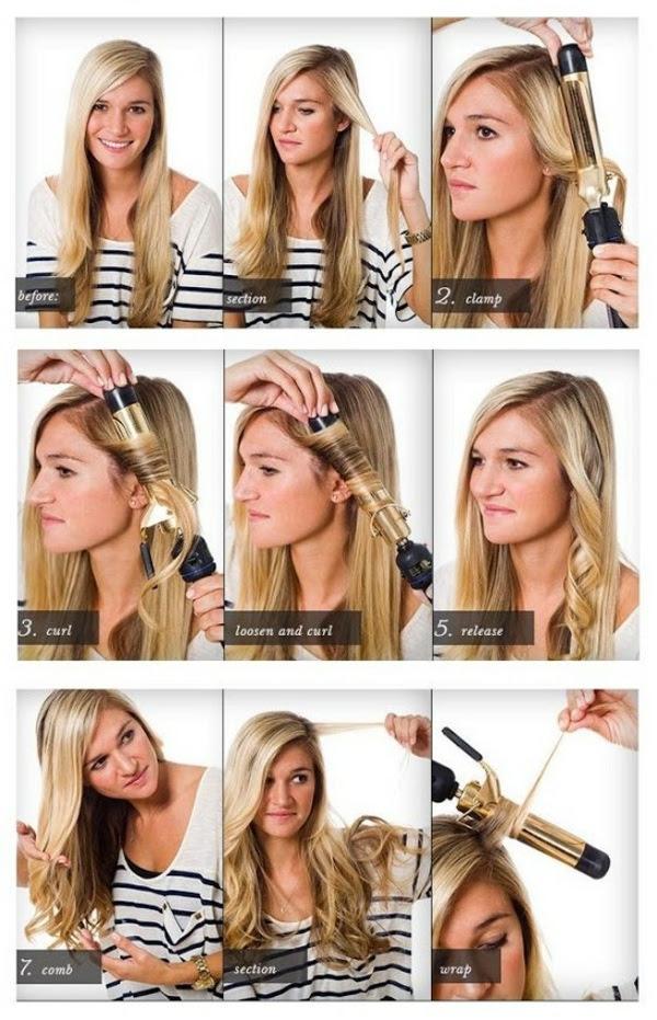Frisuren Zum Nachmachen Mit Anleitung Locken
