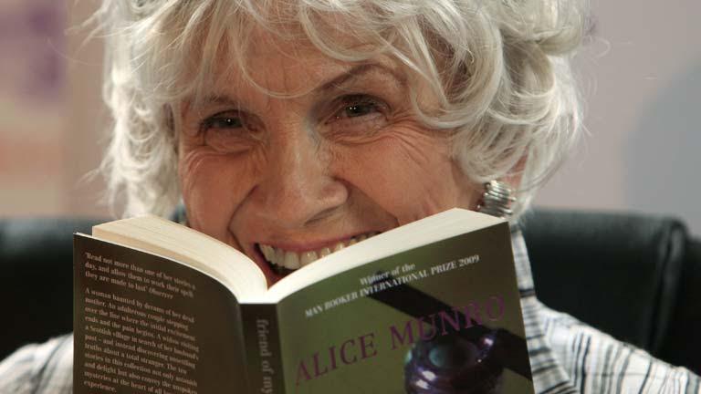 Alice Munro es ganadora del premio Nobel de Literatura 2013