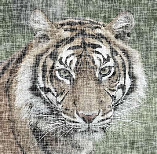 Как сделать из фото рисунок с текстурой холста