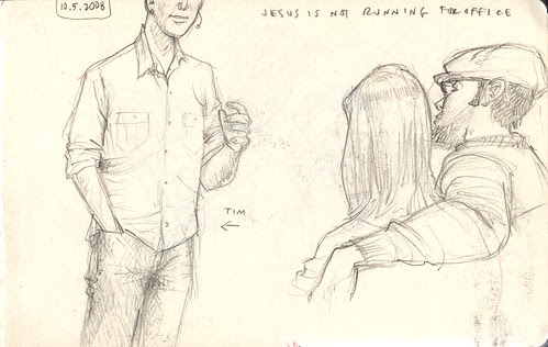 sketches in church 1
