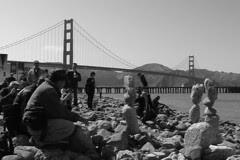 Golden Gate Bridge 75th Anniv - Rock exhibition