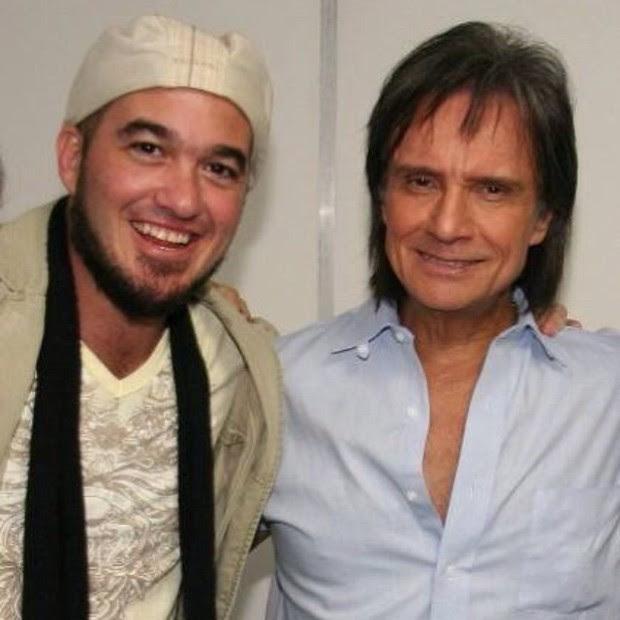 Roberto Carlos posta foto com Alexandre Pessoal (Foto: Instagram / Reprodução)