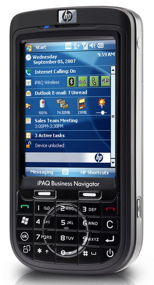 hp ipaq 600 smartphone