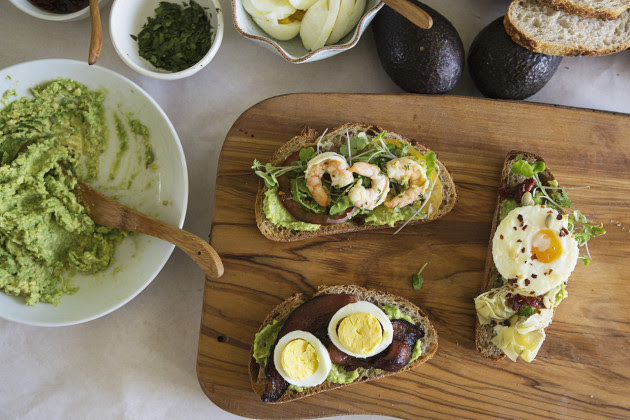 Avocado Toast Bar Pic