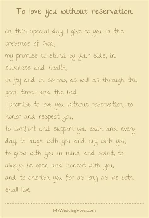 20 best Vows images on Pinterest   Traditional marriage