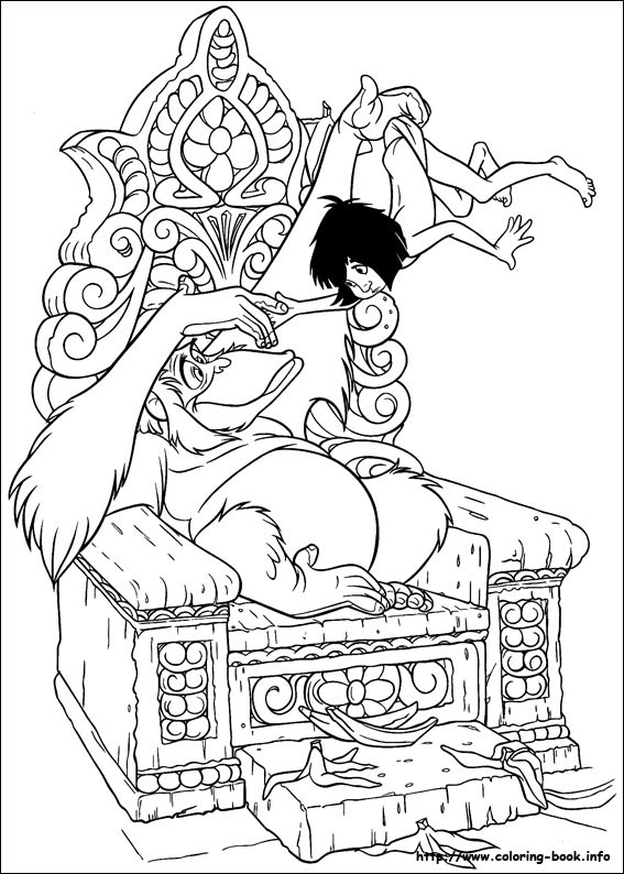 4700 Top Coloring Pages Jungle Book Download Free Images