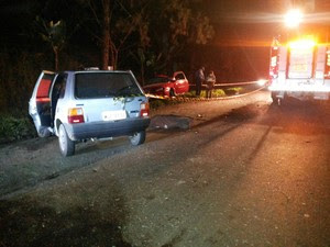 Dois motoristas morreram em acidente em Pouso Redondo (Foto: PRF/Divulgação)
