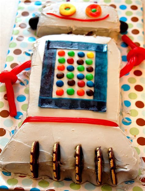 Robot Cake ? Decoration Ideas   Little Birthday Cakes
