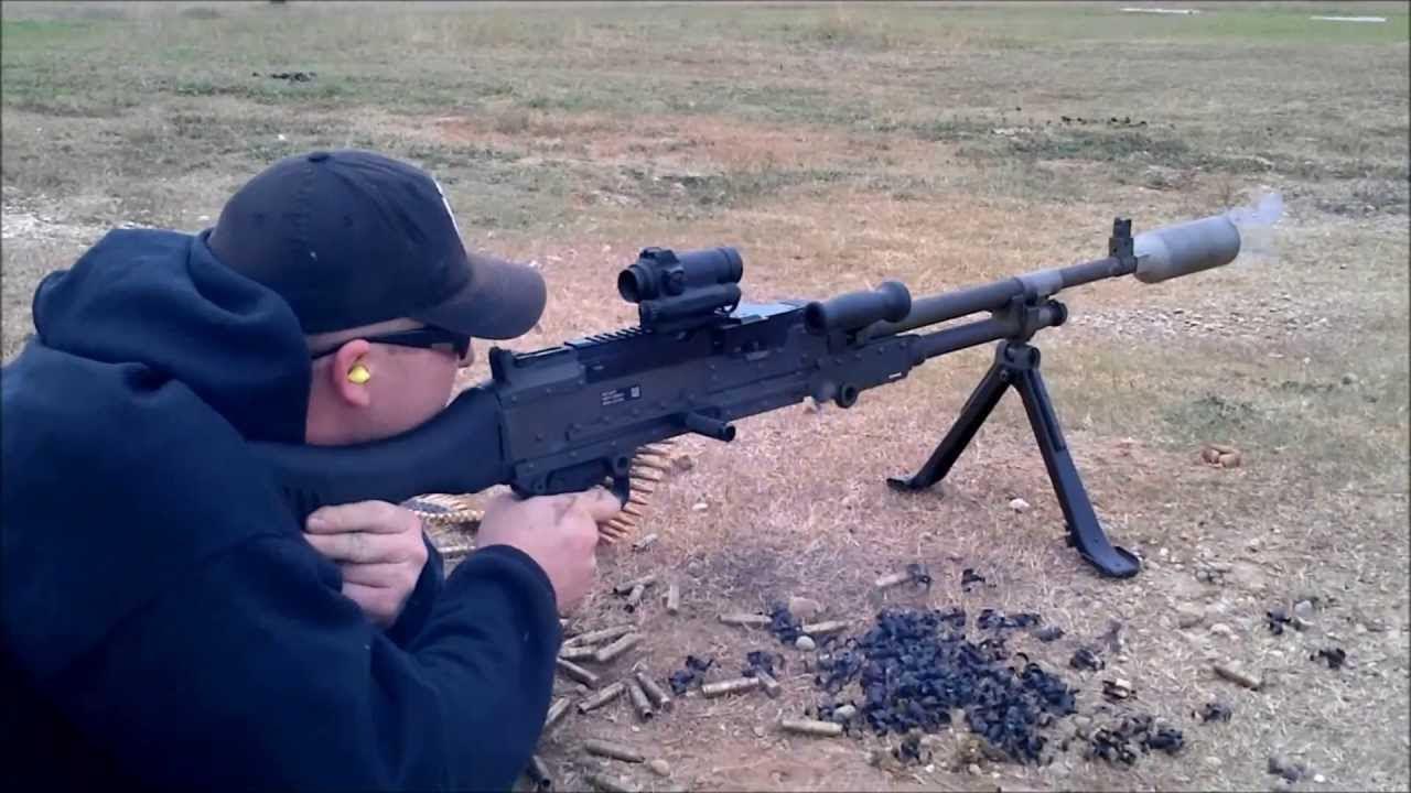 M240 Platt Suppressor Old Vs. New - YouTube