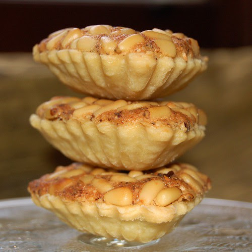 pinenut and almond tartlets© by Haalo