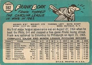 #592 Frank Bork (back)