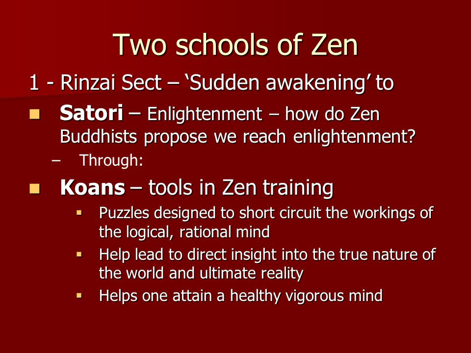 Risultati immagini per satori zen