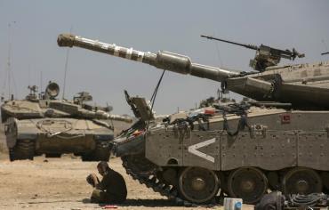 IDF in Gaza strip