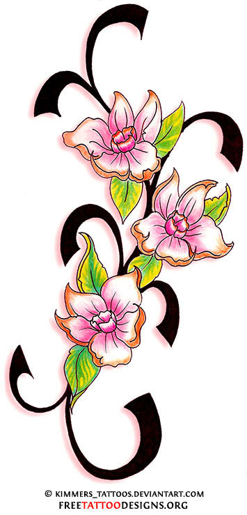 Flower Tattoo Gallery 70 Flower Designs